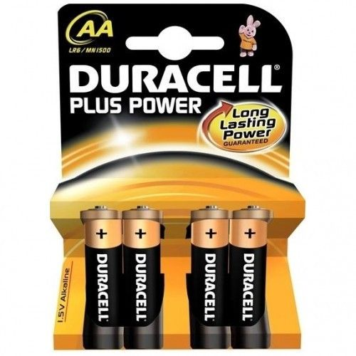 PILA AA DURACELL PLUS POWER 4UNIDADES